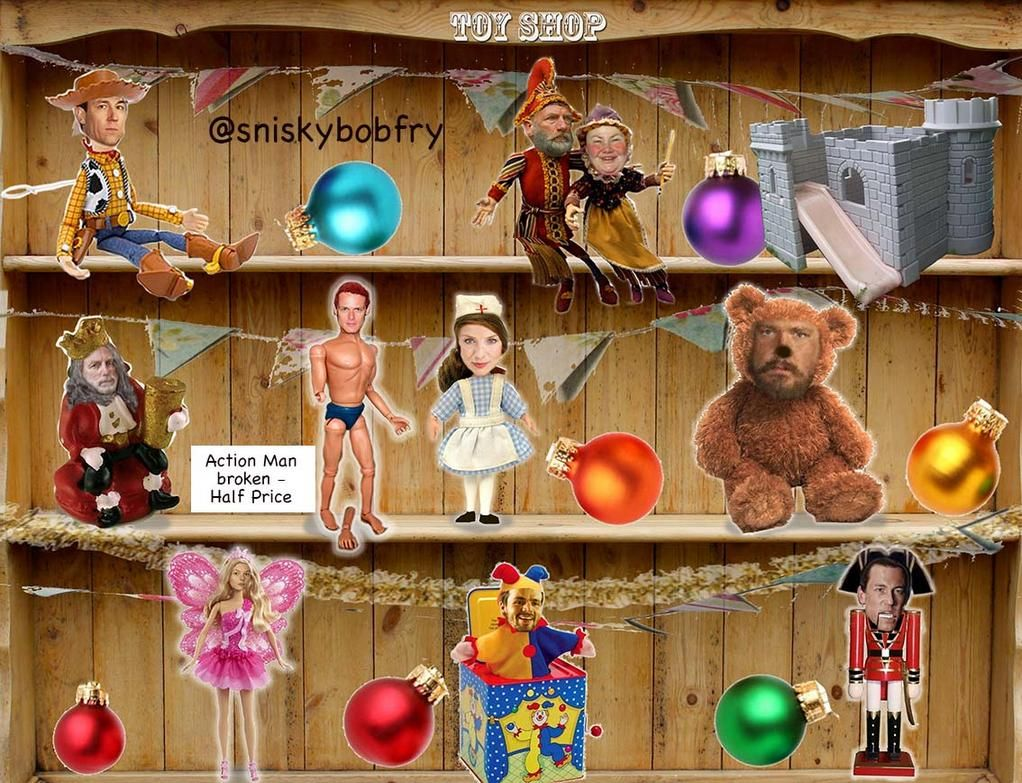 .@Writer_DG @Heughligans @Caitrionation Have you done your Christmas Shopping yet? There's a new toy shop in town.