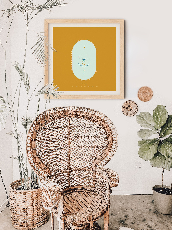 soft color wall art set of 4 lagom prints hygge decor boho on hygge wall decor id=57777