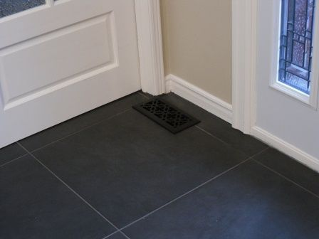 Charcoal Tile Floor Flooring Ideas And Inspiration