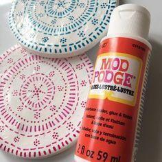 How to Make Clay Coasters  Hobbycraft Blog