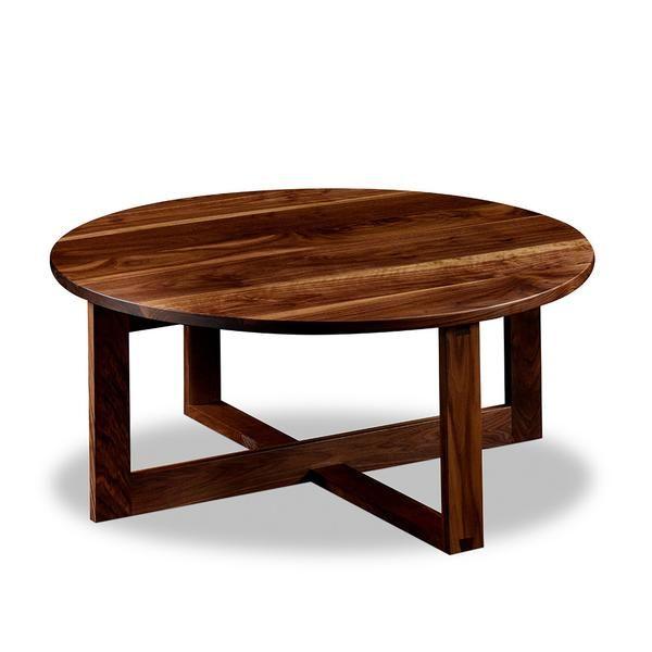 Lokie Round Coffee Table Round Coffee Table Table Wood Table