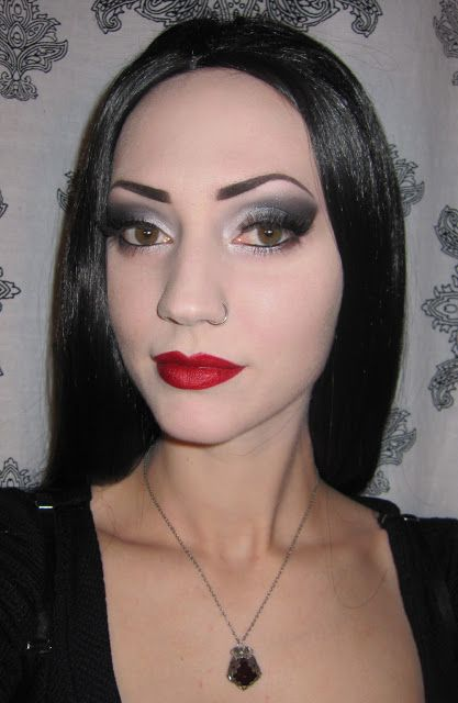 Morticia u0026 Gomez Addams Halloween Costume/Makeup + Party Pictures  sc 1 st  Pinterest & Glitter is my crack...: Morticia u0026 Gomez Addams Halloween Costume ...