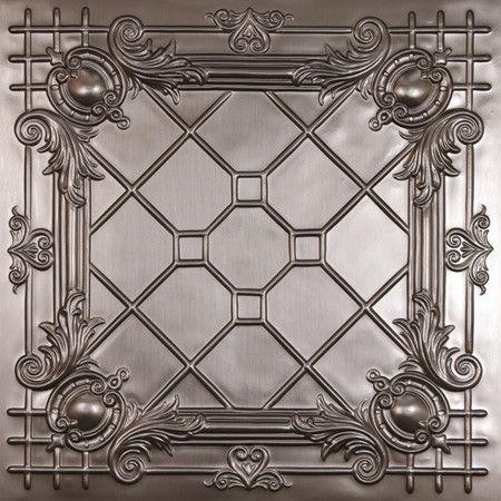 Bentley Faux Tin Ceiling Tiles - beautiful decorative tile to place ...