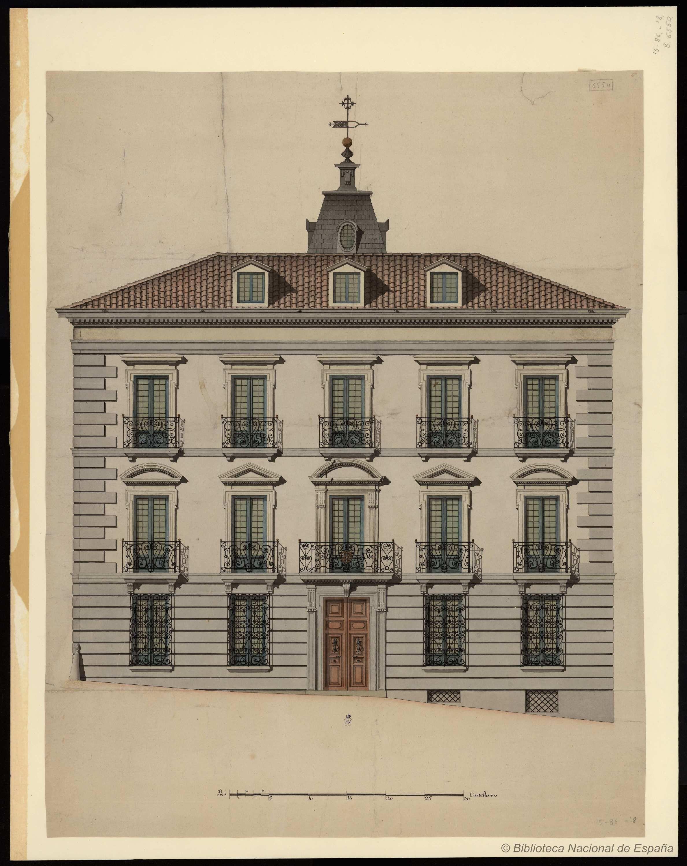 Casa Palacio Arquitectura En Espana Dibujo De Arquitectura Bocetos Arquitectura