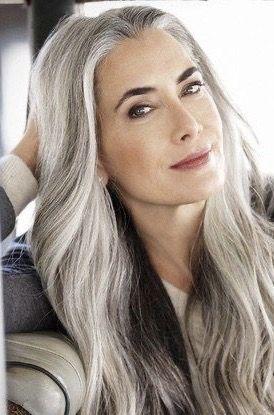 Pin By Heidi Payne On Gray Hair In 2020 Hair Styles Long Hair Styles Grey Hair Color