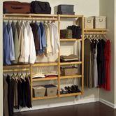 """Found it at Wayfair - Standard 12"""" Deep Closet Organizer Set in Honey Maple"""