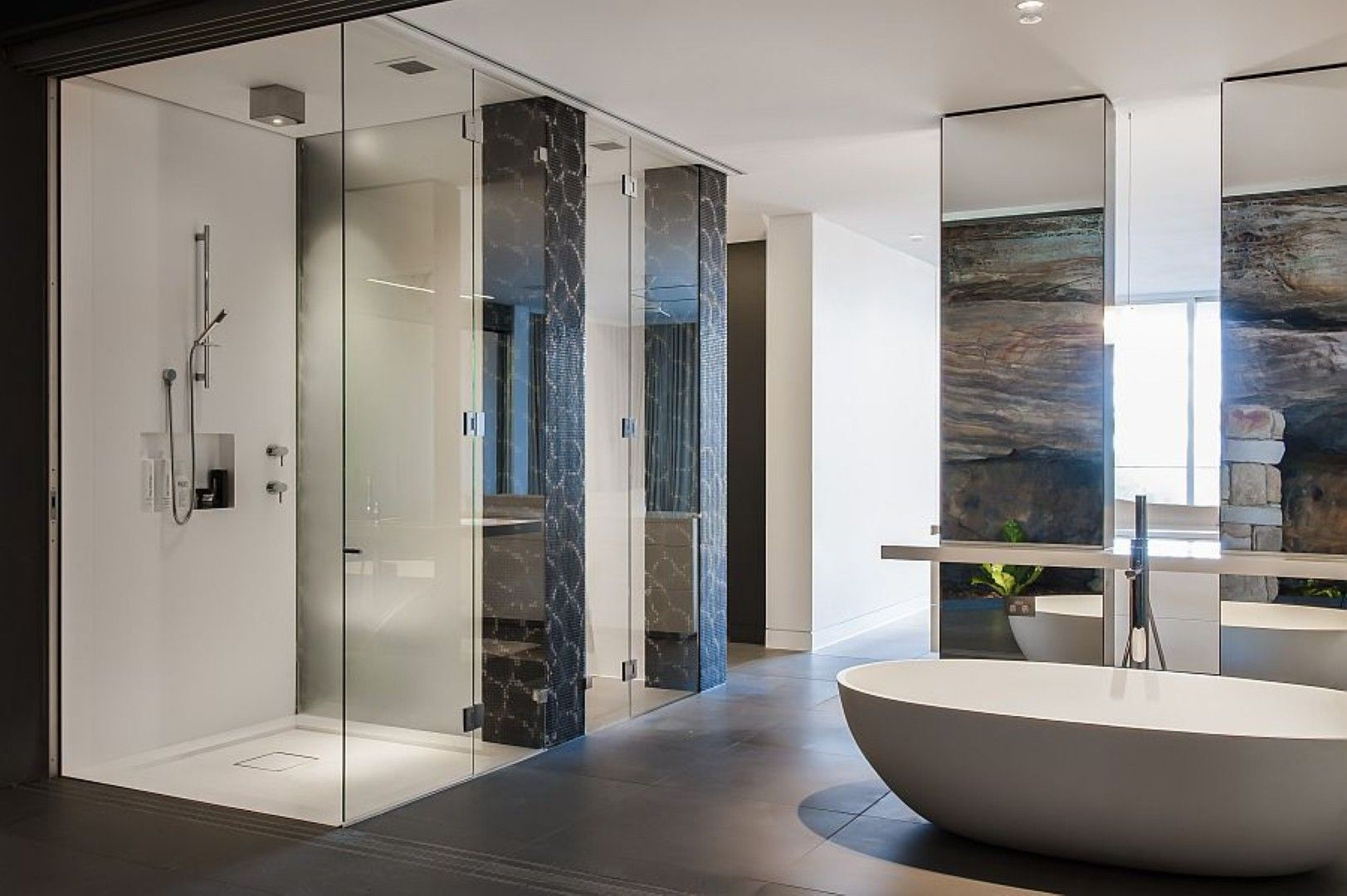 Beautiful Contemporary Ensuite Bathroom Design