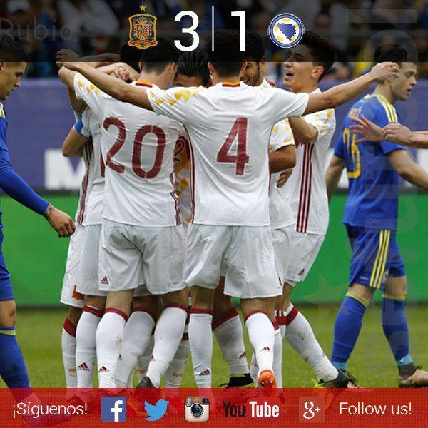 Amistoso: España 3 - Bosnia 1   Football Manager All Star