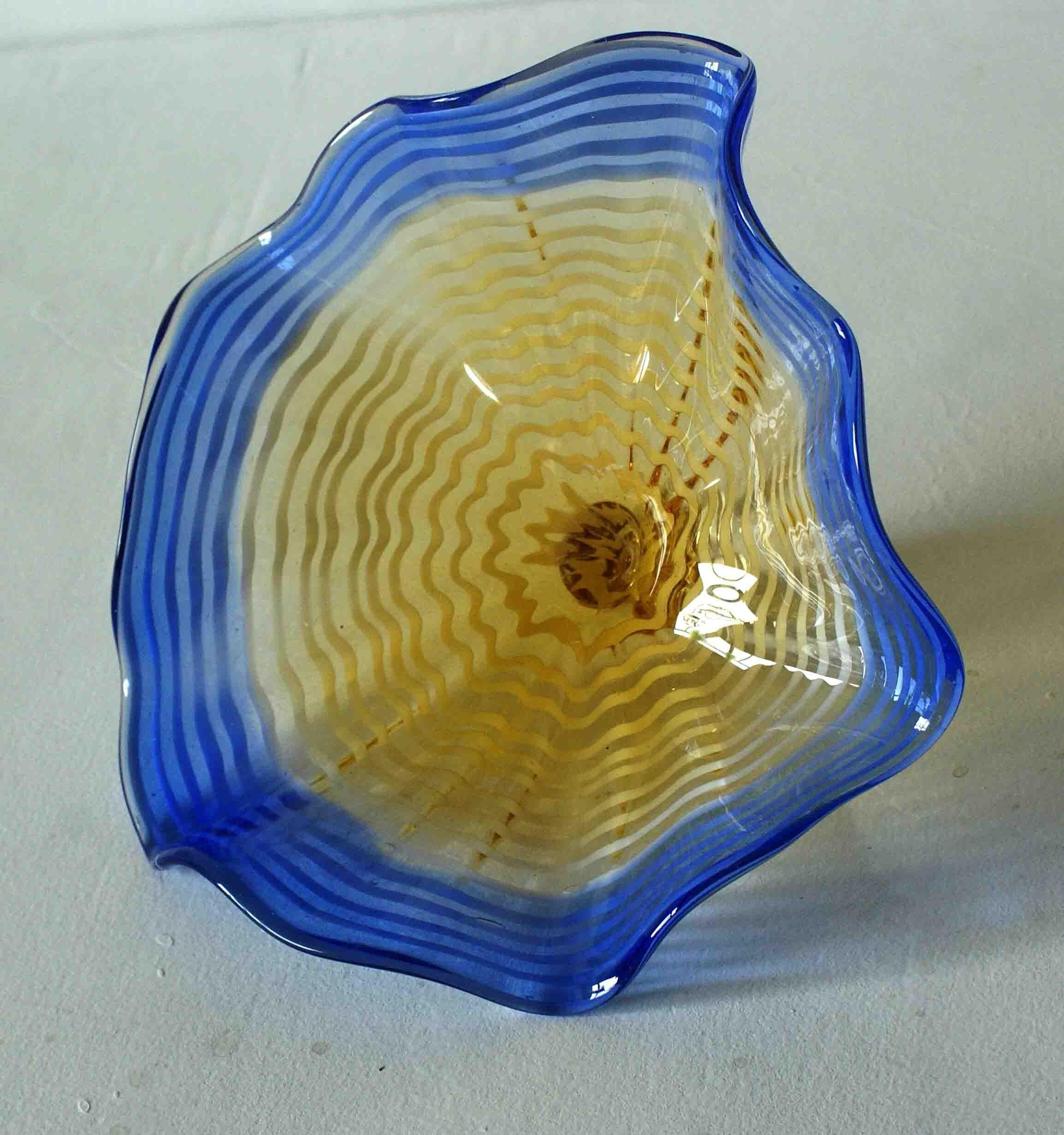Unique design murano glass plates for wall art | Murano Glass Craft ...
