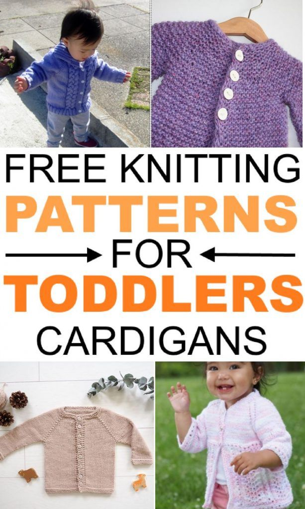 Free Knitting Patterns For Toddlers Cardigans Mantas Y Accesorios