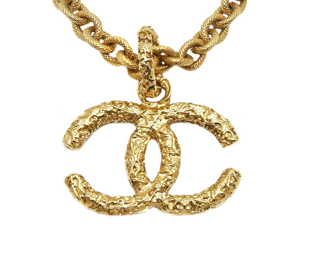 gold chains chanel pin vintage digger pinterest chain