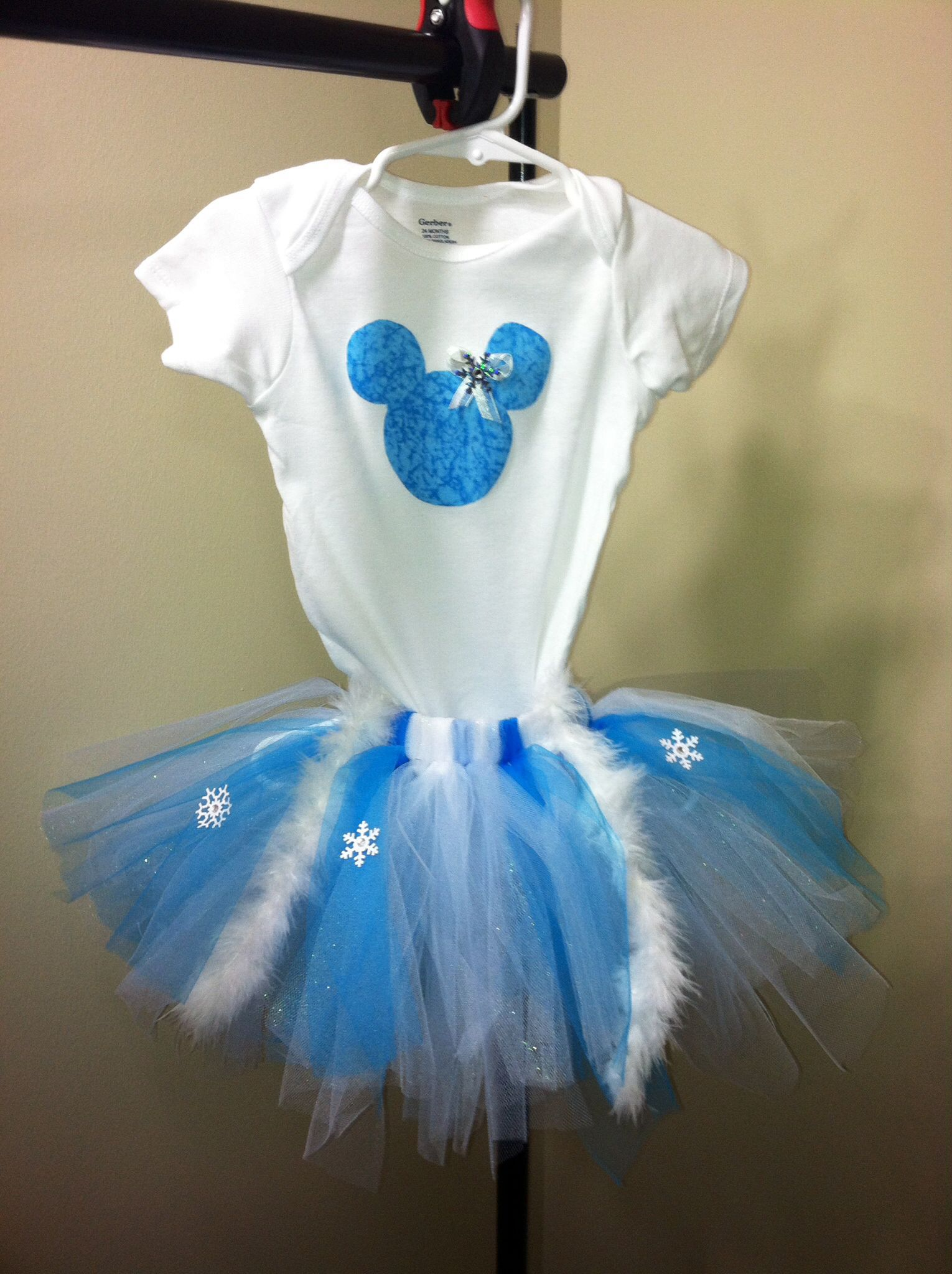b6c725a8d Frozen inspired tutu outfit