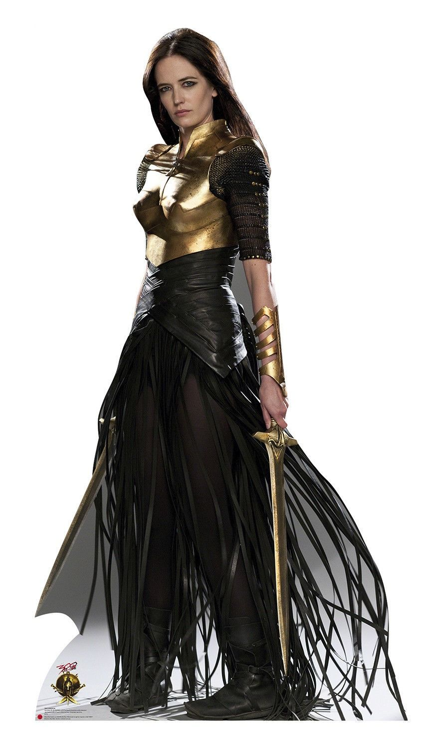 standee poster for Eva Green as Artemisia in 300: Rise of ...300 Rise Of An Empire Eva Green Dress