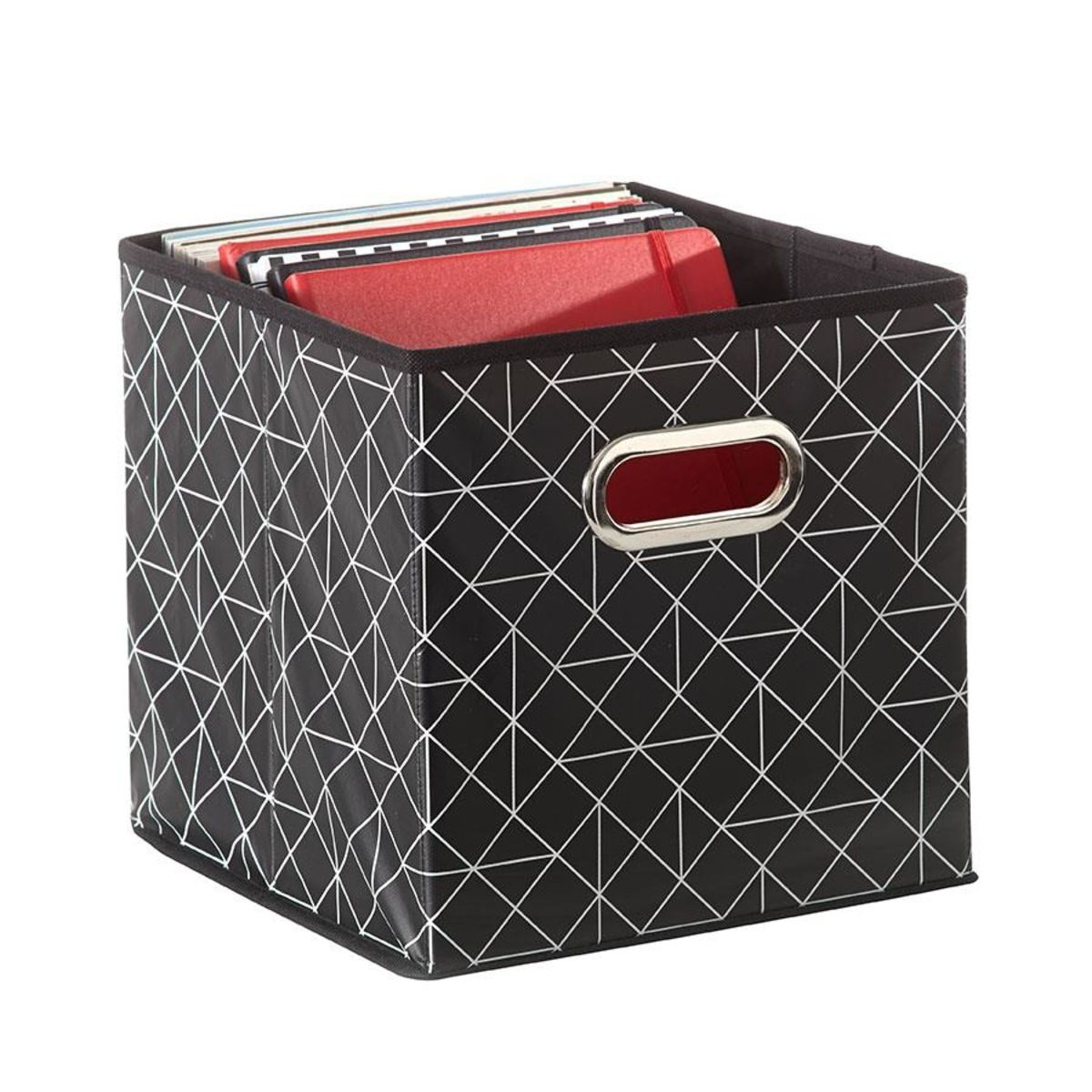 Decorative Dvd Storage Boxes Storage Cube  Geometric  Kmart  Bits & Pieces  Pinterest