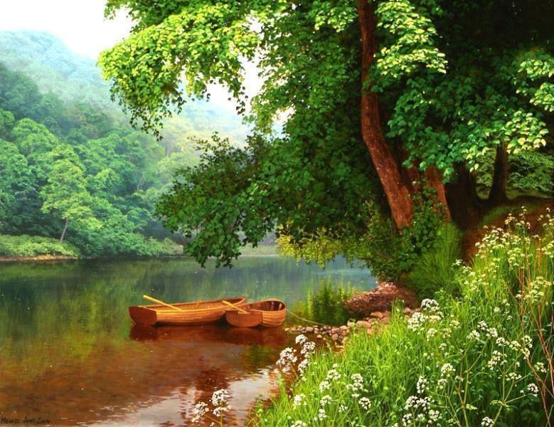 Michael james smith landscape painting pinterest for Michael james smith paintings