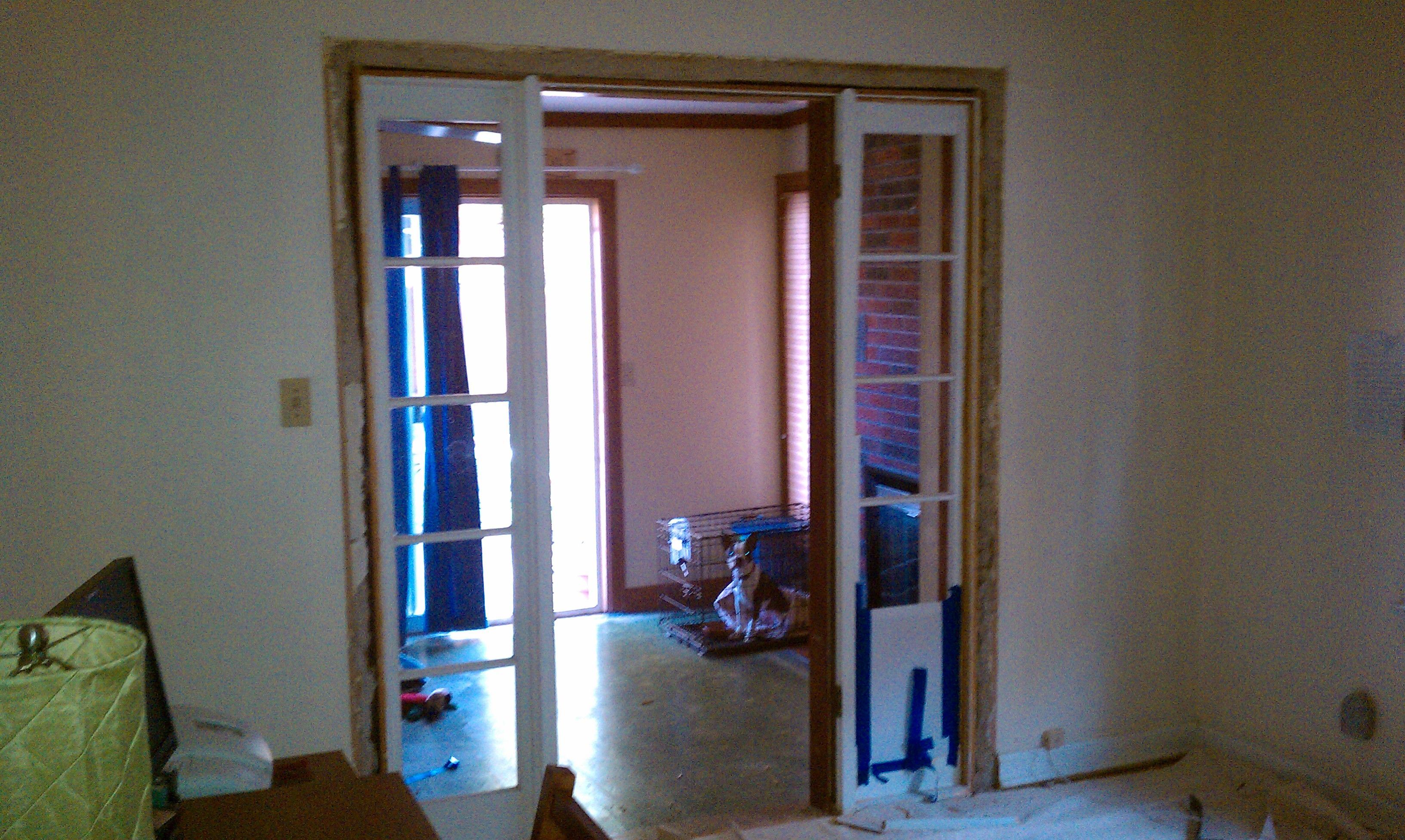 Install French Doors Interior Photo Door Design Pinterest