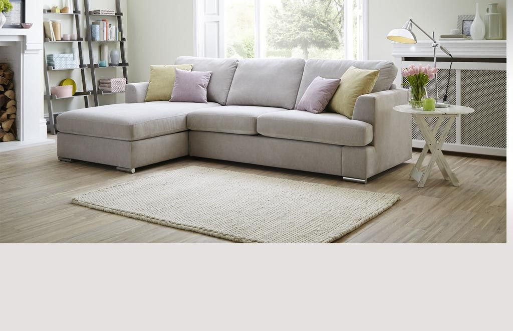 Right Hand Facing 2 Piece Corner Deluxe Sofa Bed Freya