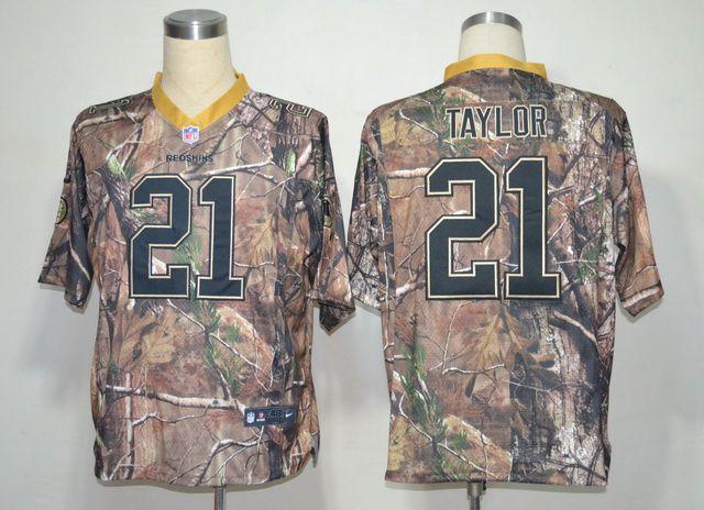 pretty nice 955d2 0f5bf camo Taylor Elite jersey, Washington Redskins #21 Nike NFL ...
