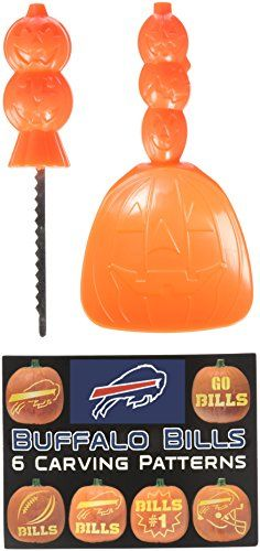 Buffalo Bills Pumpkin Kits Cool Buffalo Bills Fan Gear Pinterest