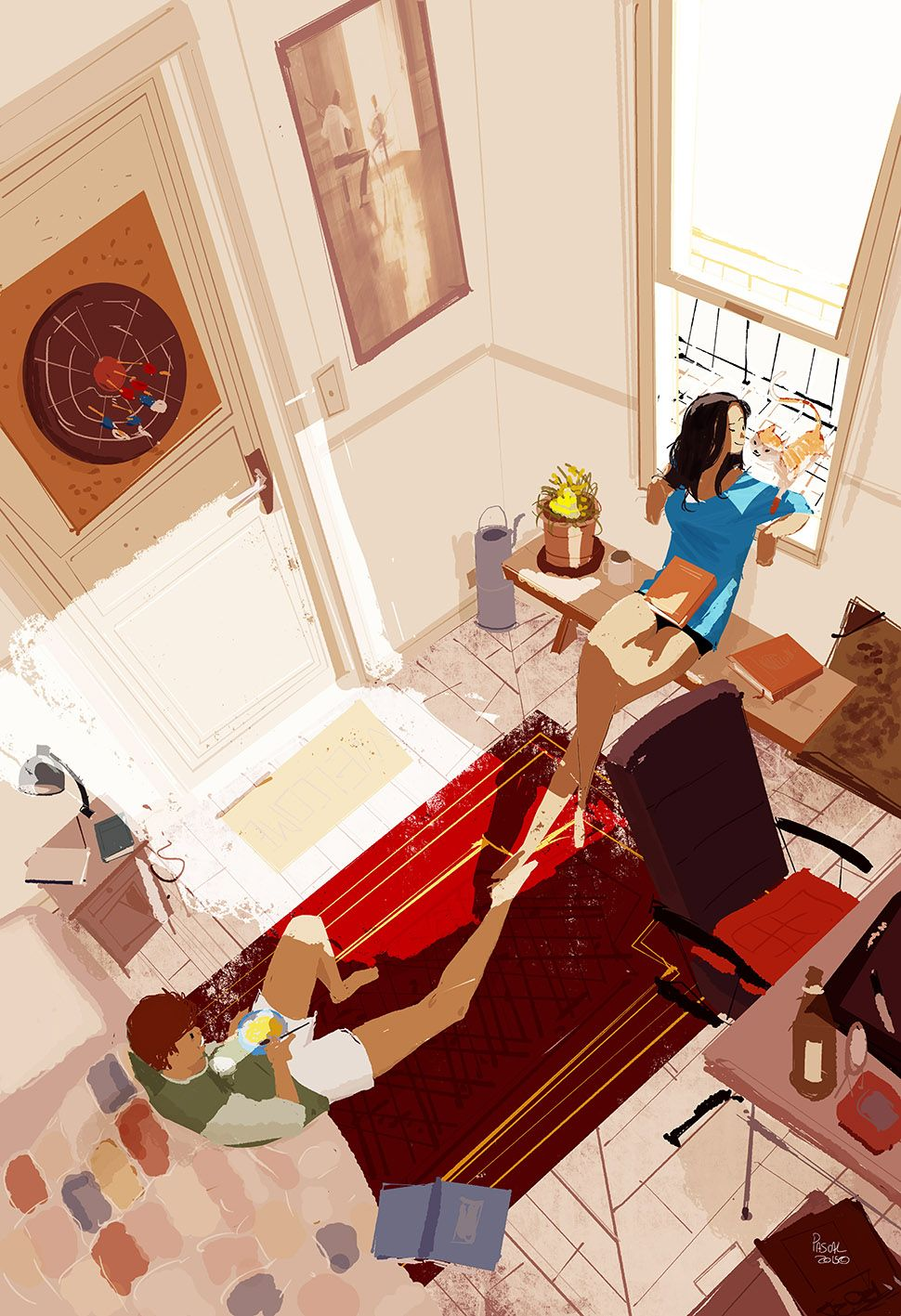 Saturday Late morning. by Pascal Campion