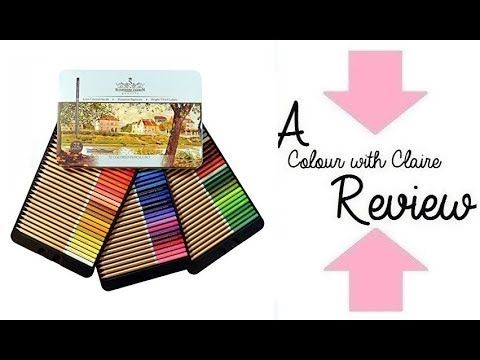 Schpirerr Farben Coloured Pencil Review - YouTube | Colored Pencil ...