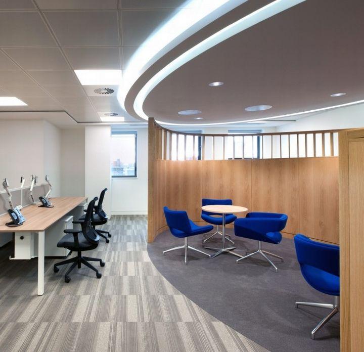 genesis oil gas office by morgan lovell london office
