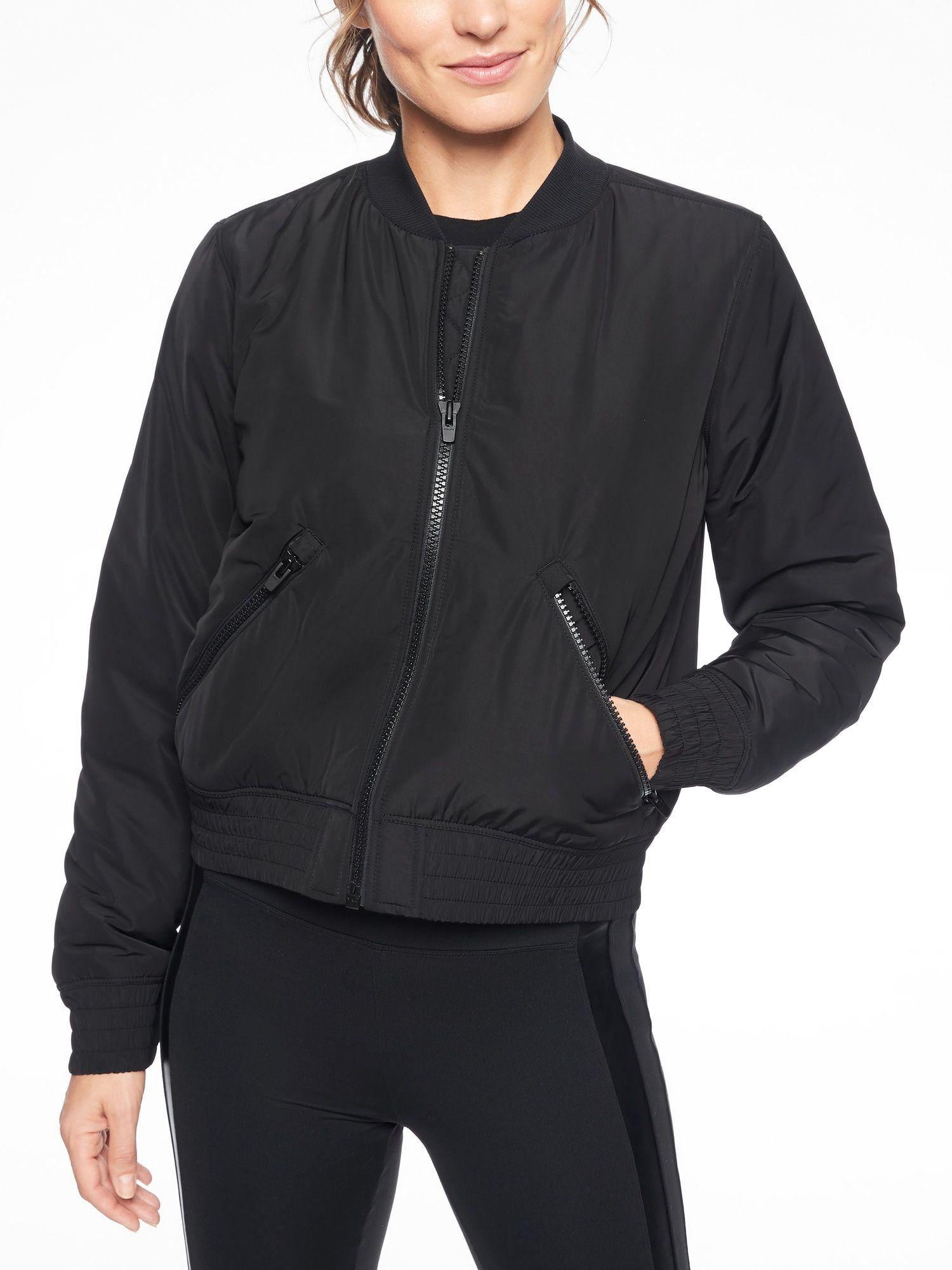 Northstar Primaloft Bomber Jacket Athleta Dream Clothes Jackets Black Bomber Jacket [ 2000 x 1500 Pixel ]