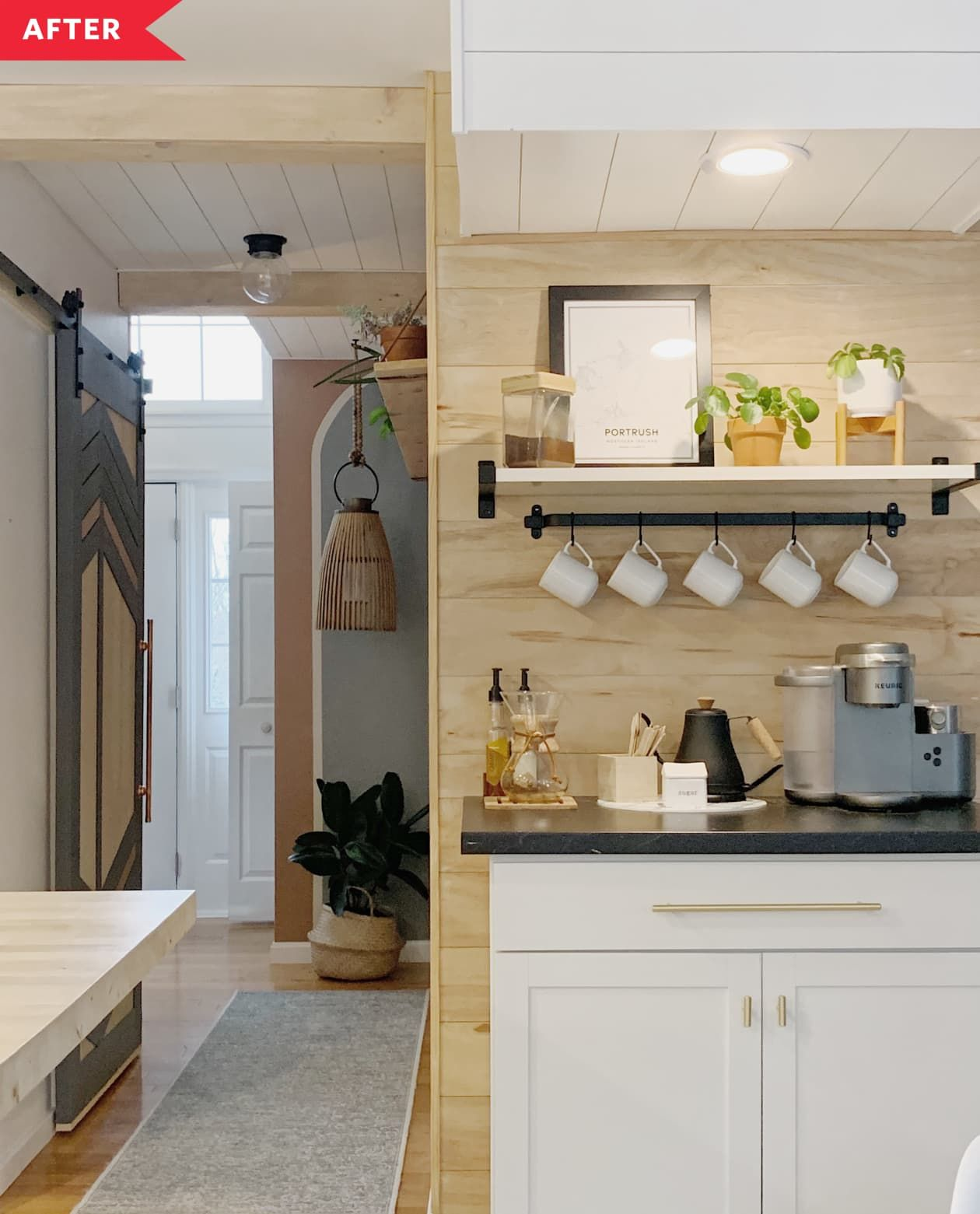Before And After Just 2 000 Turns This 90s Kitchen Into A Scandi Boho Dream In 2020 Boho Kitchen Budget Kitchen Remodel Kitchen Remodel