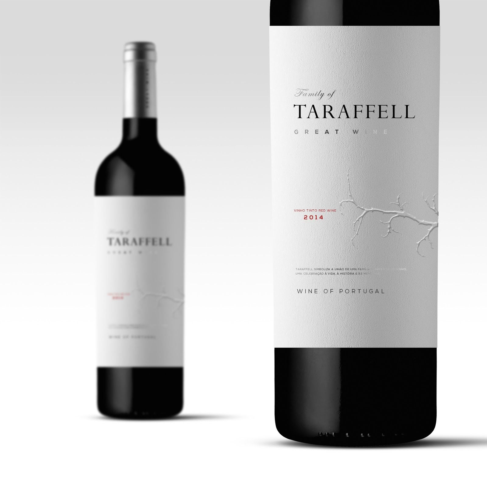 Taraffell Great Wine | Package design, Creative package design and ...