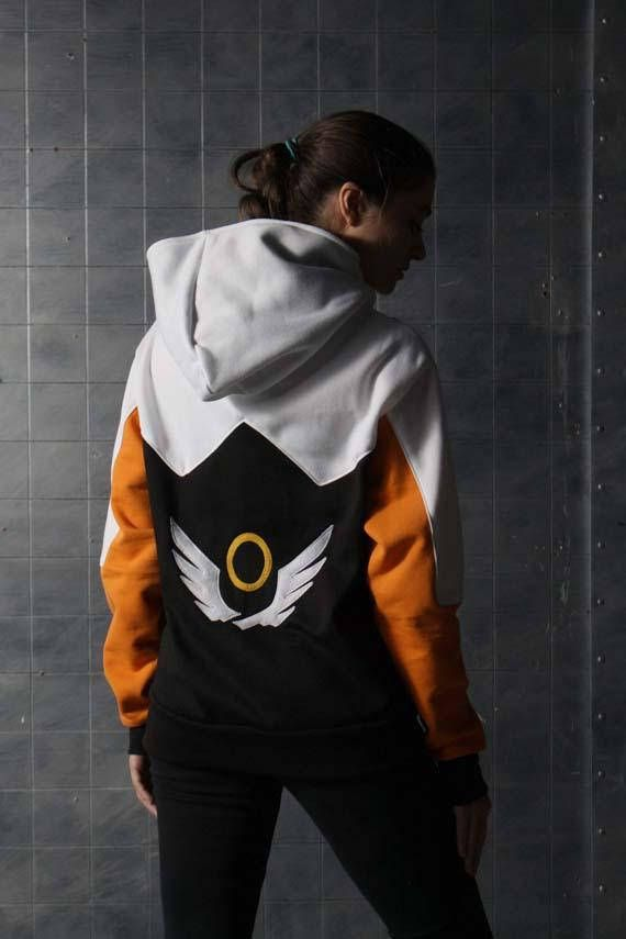 Overwatch Mercy Inspired Hoodie OS3S3Of