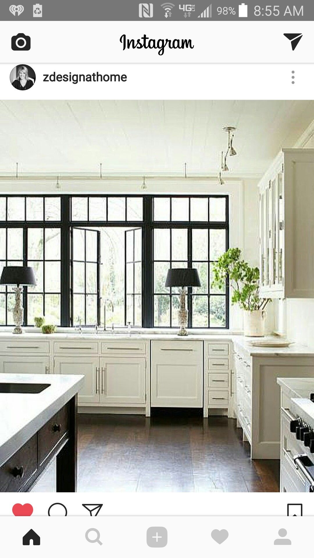All the white with the dark window grids...   K I T C H E N S ...