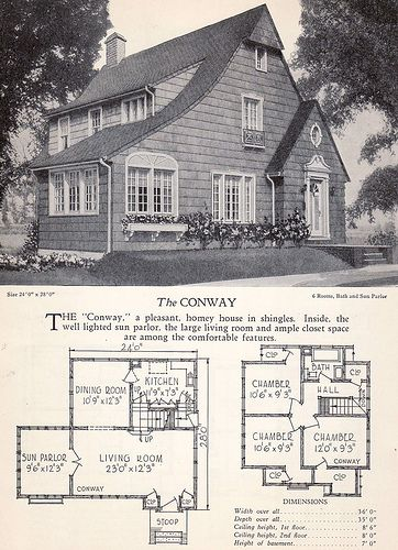 1928 Home Builders Catalog - The Conway | Flickr - Photo Sharing!
