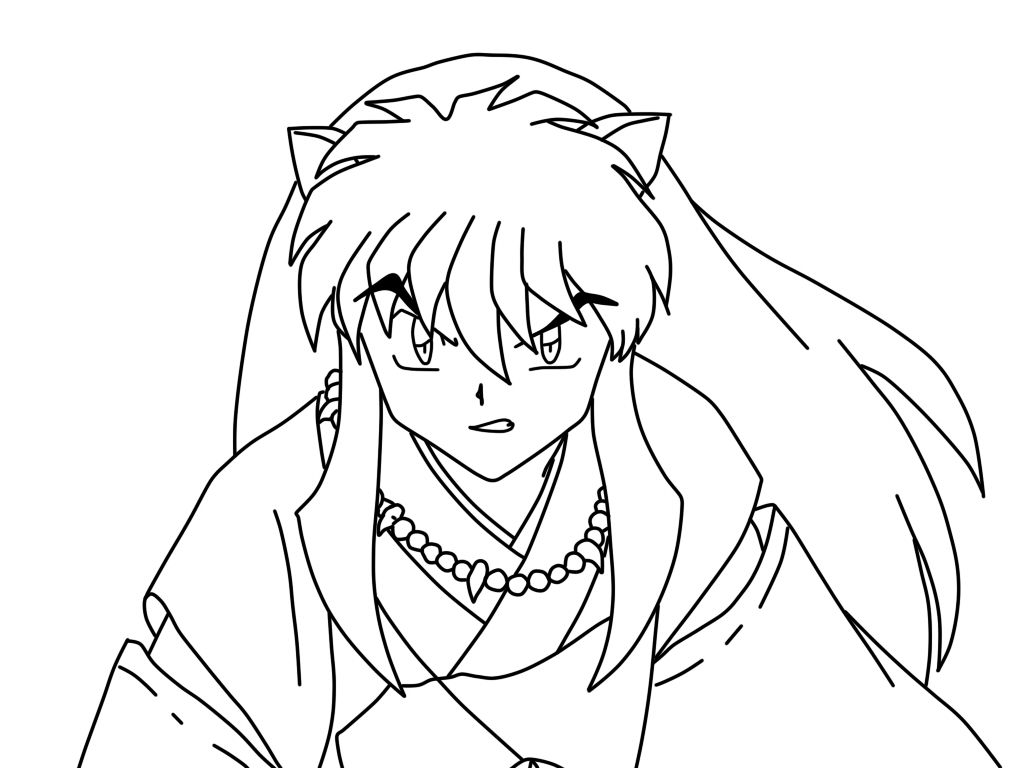 Coloring Pages Of Inuyasha Cartoon Coloring Pages Coloring Pictures Coloring Pages