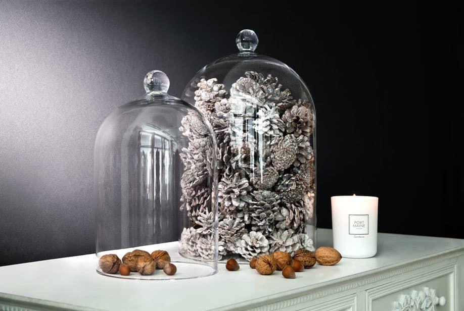 Eine glasglocke drei deko ideen haus pinterest for Herbst dekoration im glas