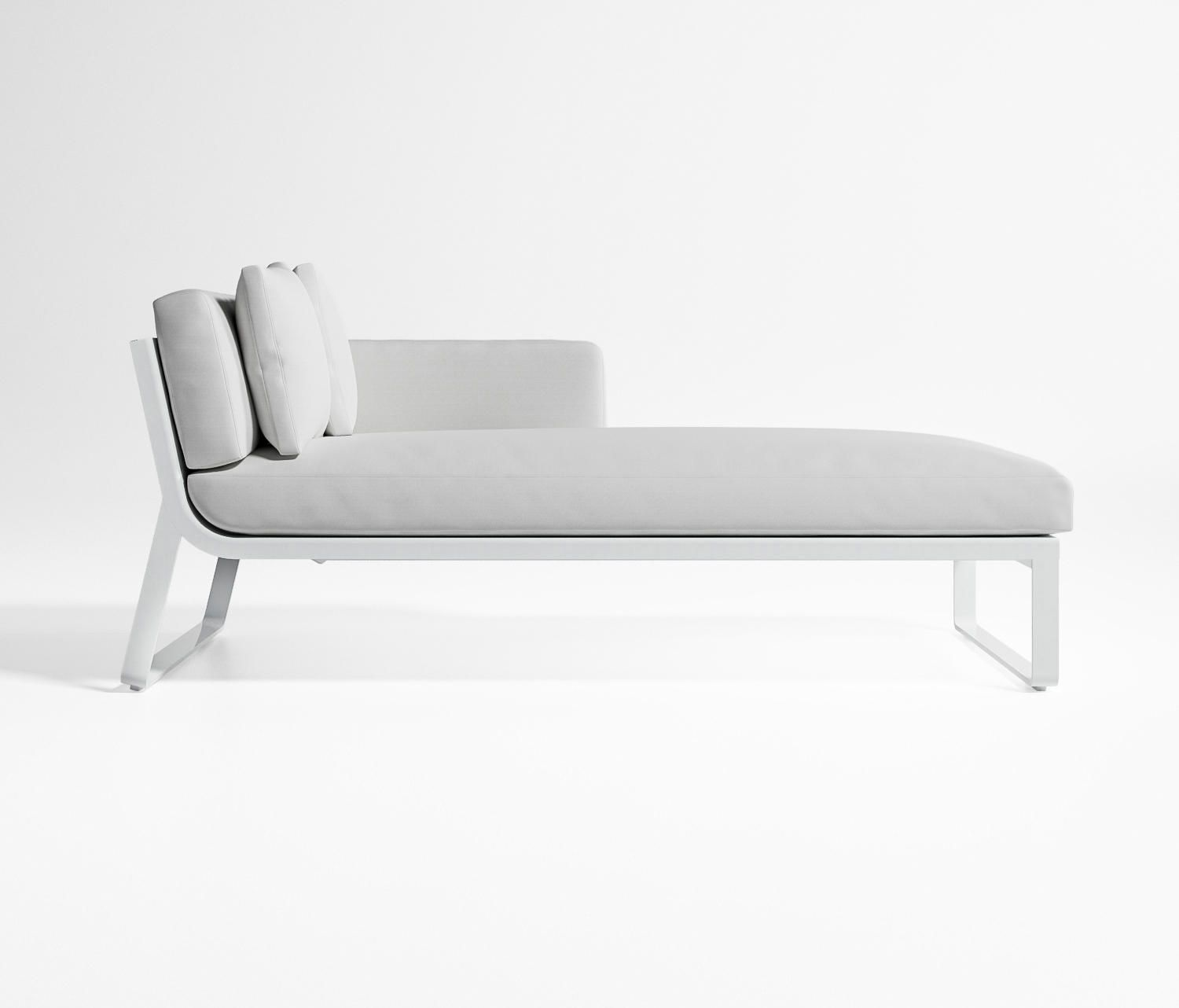 Flat Modular Sofa 2 Sun Loungers From Gandiablasco Architonic