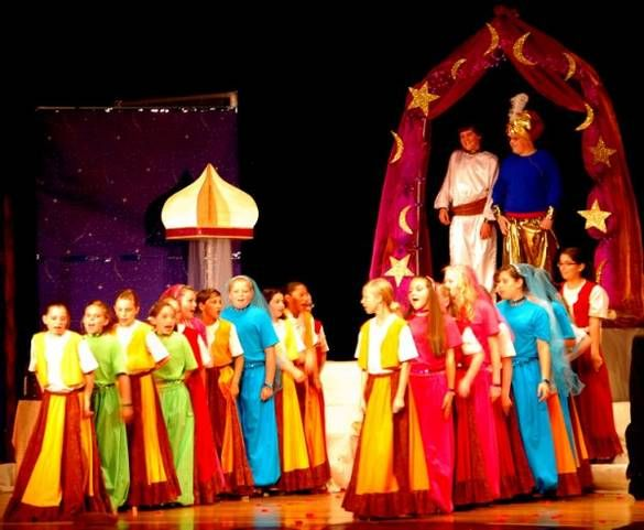 At Marshall Auditorium Aladdin Play Aladdin Costume Aladdin