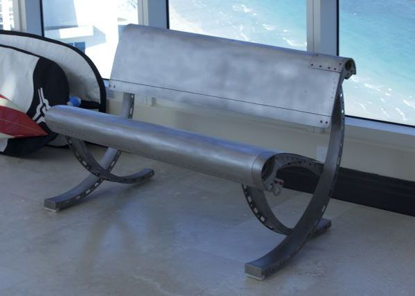 aircraft furniture bench seat aviation furniture pinterest themed rooms bench seat and benches aviation themed furniture