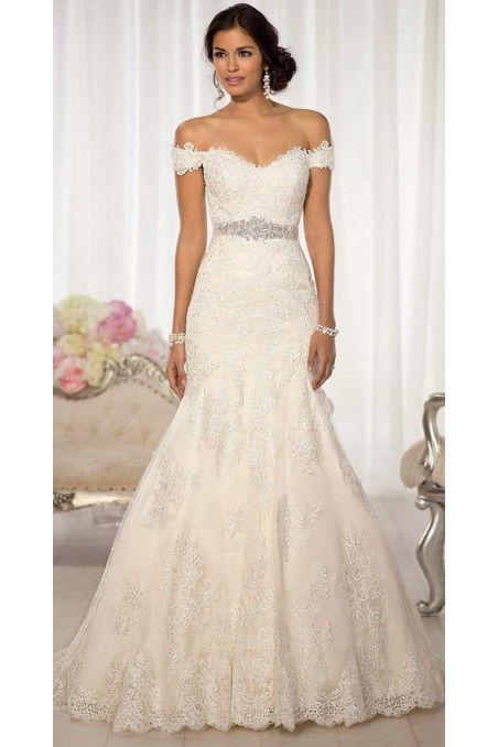 Corte sirena | novias | Pinterest | Vestidos de novia, De novia y Novios