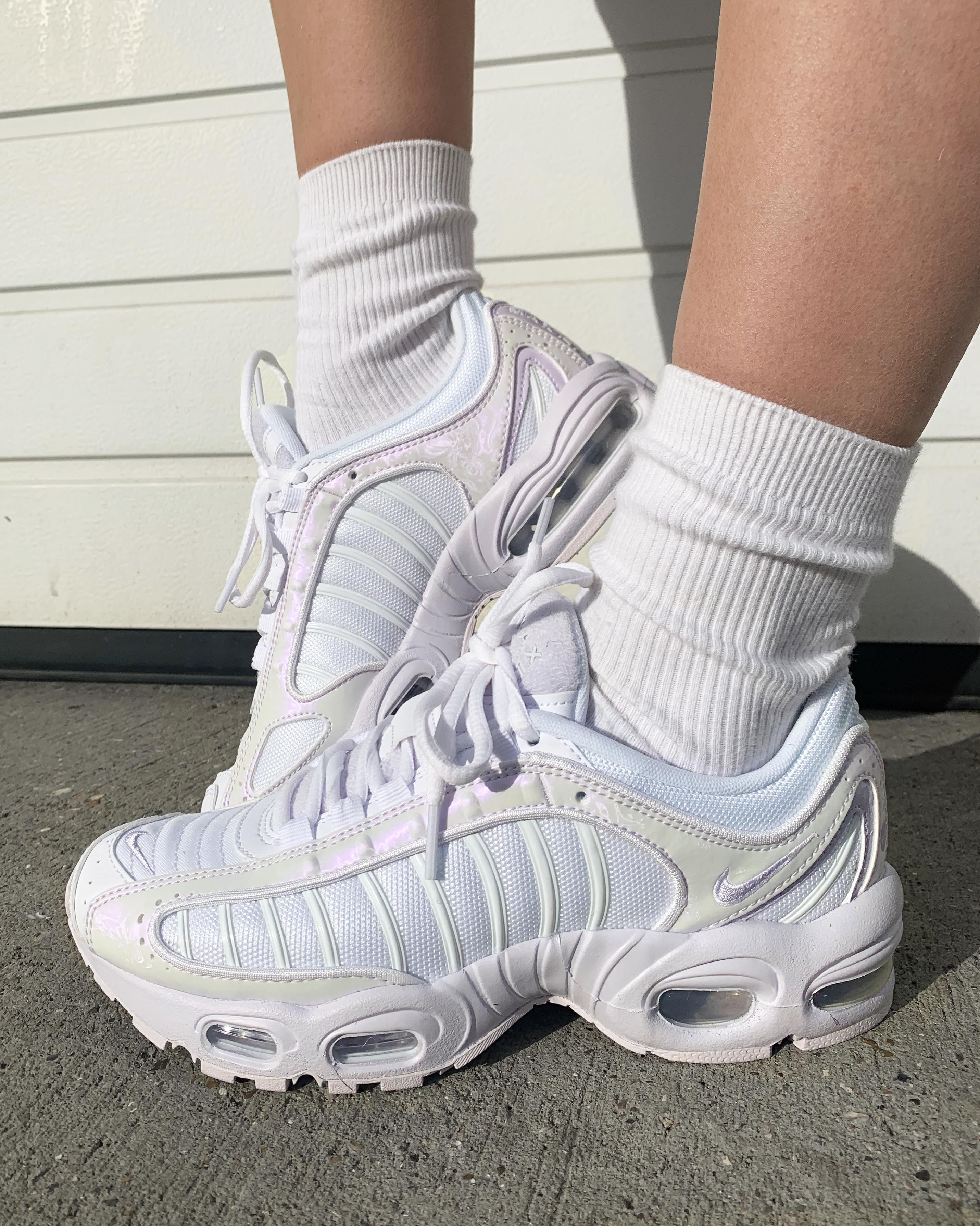 Nike Air Max Tailwind 4 White Barely Grape Where To Buy Cu3453 100 The Sole Womens Sneakers Nike Air Max Nike Air Max Most Comfortable Sneakers