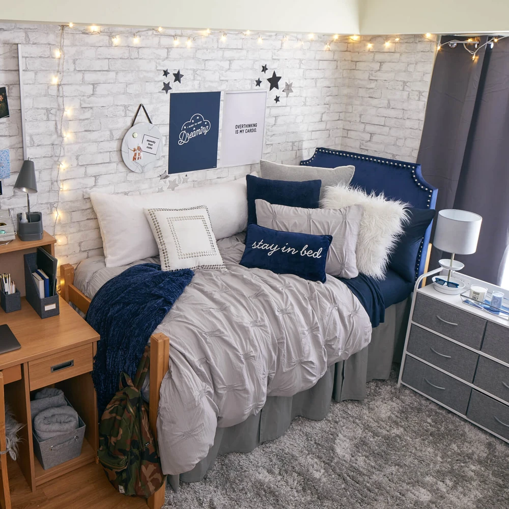 White Brick Removable Wallpaper In 2021 Dorm Room Colors White Dorm Room Dorm Room Inspiration