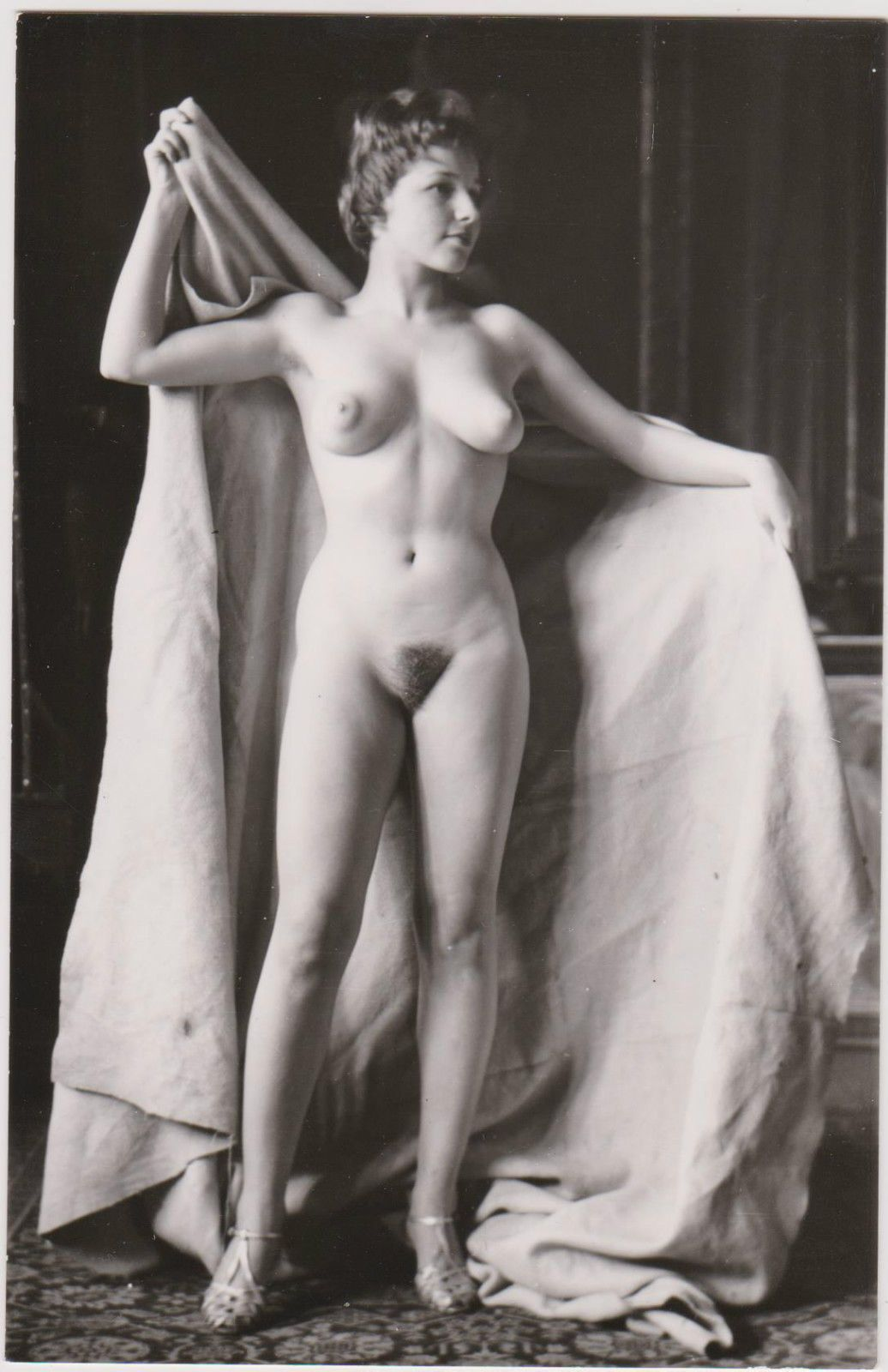 Pin By Rick On Erotica  Pinterest  Nude, Vintage And Vintage Beauty-9710