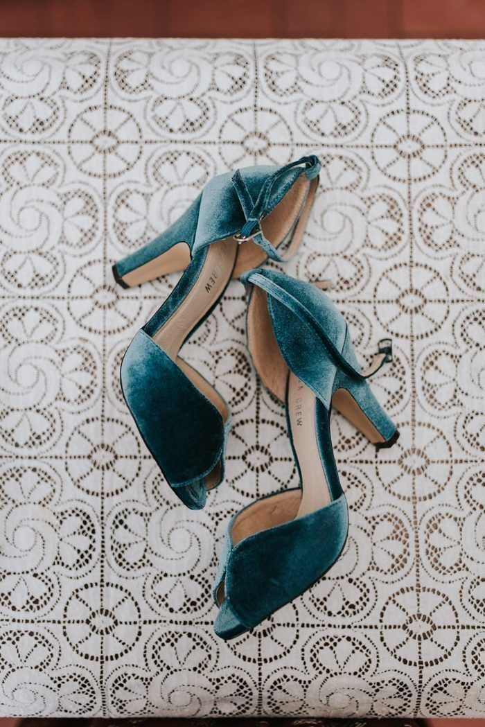 2019 Wedding Trends That Will Make Your Day Unforgettable 2019 Wedding Trends That Will Make Your Day Unforgettable Blue velvet wedding shoes make a statement for 2019 br...