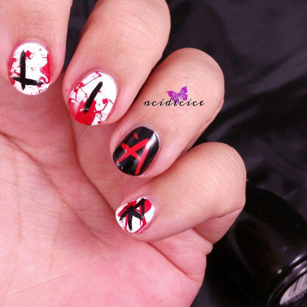 Pretty Little Liars Nail Art | Beauty Nails Community Board ...