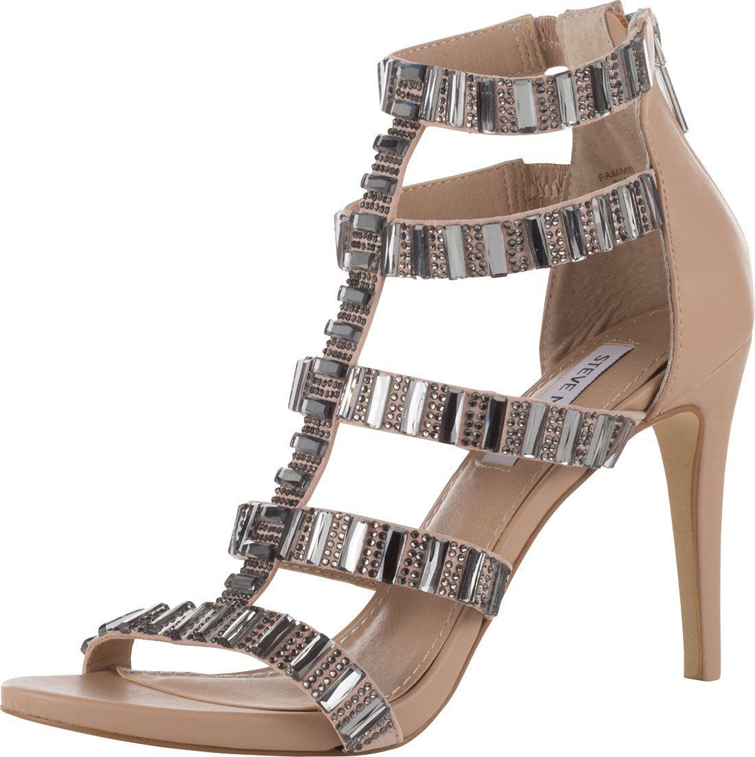 Sandale mit Schmucksteinen von Steve Madden @ ABOUT YOU http