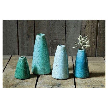 Terra Cotta Vases (Set of 4) : Target