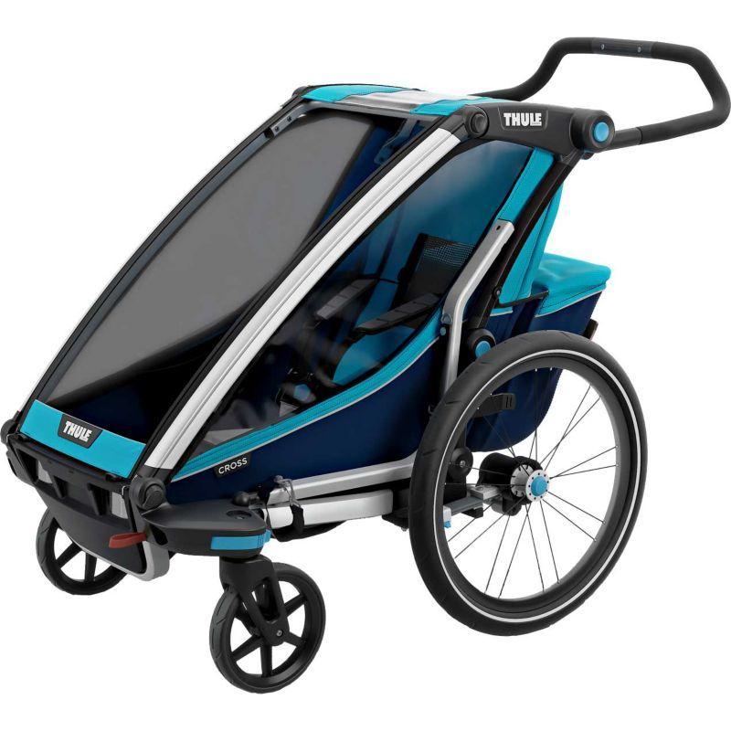 Thule Chariot Cross 1 Single Bike Trailer and Stroller ...