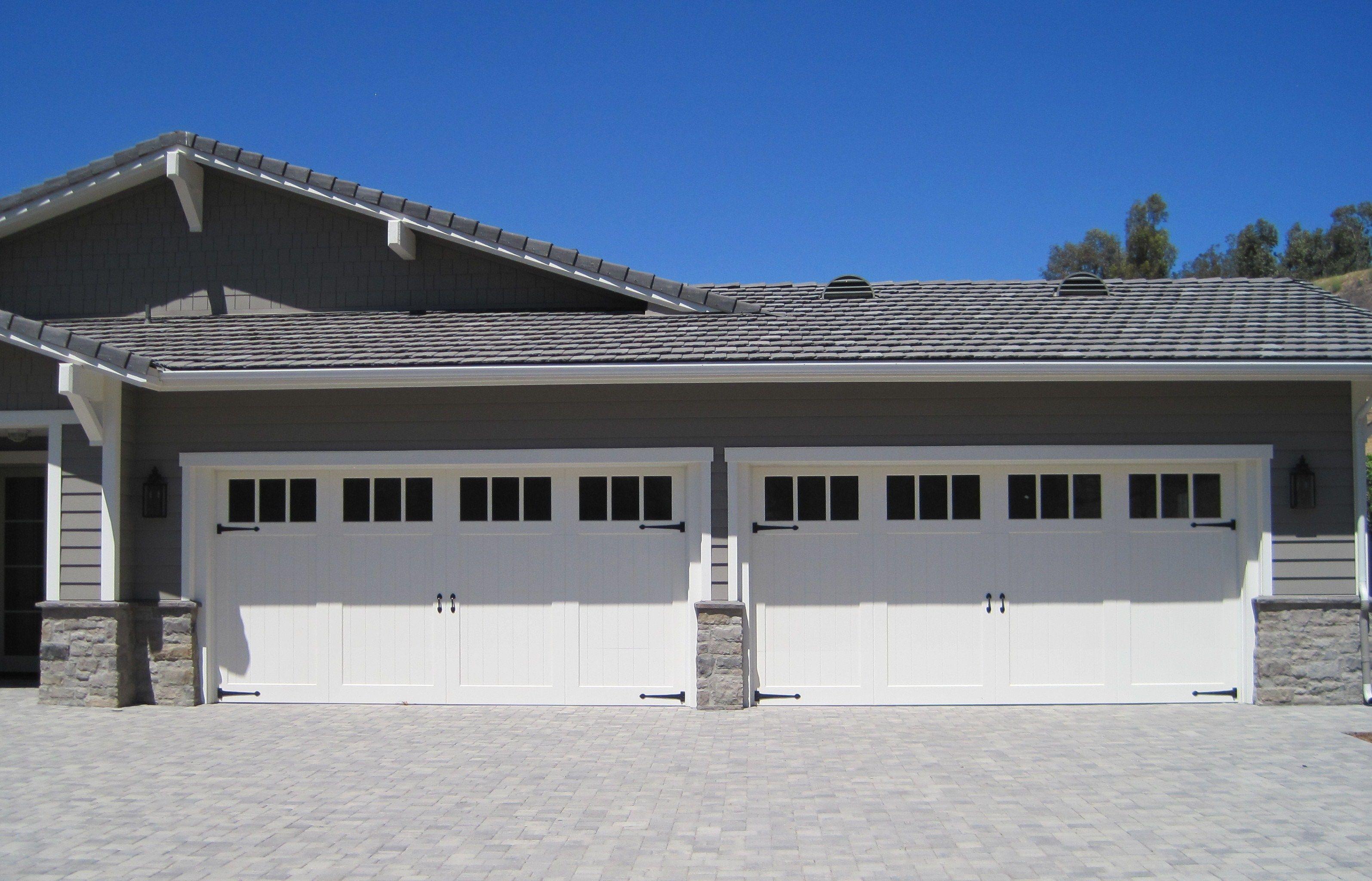 Craftsman Style Paint Grade Garage Door Los Angeles Ca Photo Credit Agi Dyer Craftsman Garage Door Spring Repair Garage Doors For Sale Garage Door Springs
