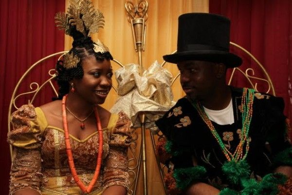 Efik wedding, Nigeria. The top hat has become one of different prestige hat styles among Delta and Calabar peoples, because of their centuries-old trade with Europe - Nairaland