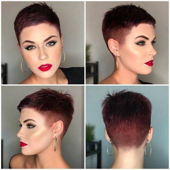 Epingle Sur Coupe Cheveux Tres Court