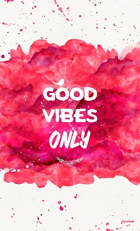 Good Vibes Only Poster Good vibes wallpaper, Good